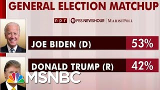 Biden Has Sizable National Lead In New Polling | Morning Joe | MSNBC