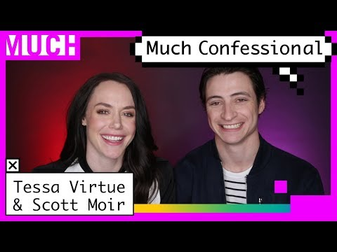 Tessa Virtue And Scott Moir On Why No One Wants To HangOut With Them | Much Confessional