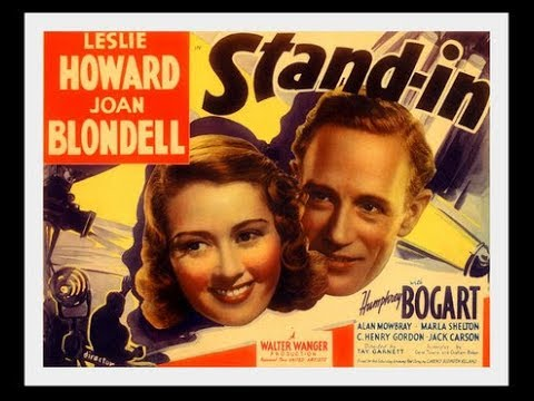 Stand In 1937 Leslie Howard, Joan Blondell and  Humphrey Bogart