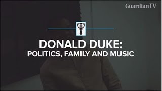Donald Duke: Politics, family and music