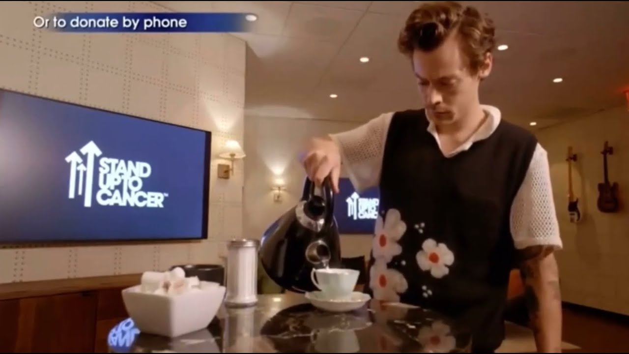 Harry Styles Does Mundane Things ALL CLIPS | Harry Styles' video for Stand Up To Cancer