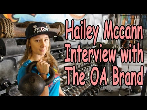 Hailey Mccann interview with The OA Brand