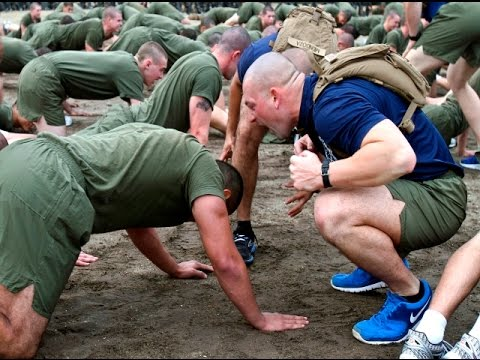 US Marine Corps Recruit Training 2016 HD