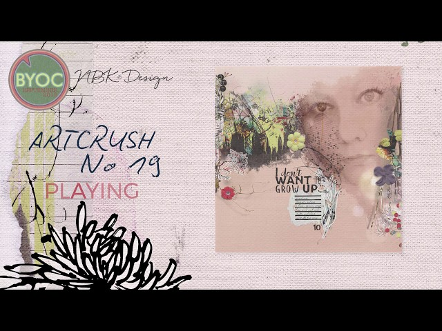 PLAYING with the artCrush no 19 Collection by NBK-Design