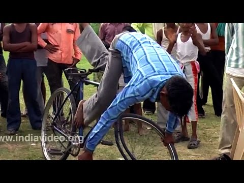 Cycle Circus in Bharatpur, Rajasthan
