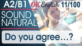 11/100 Do you agree ...? Разговорный английский язык: 100 популярных английских фраз | OK Engilish