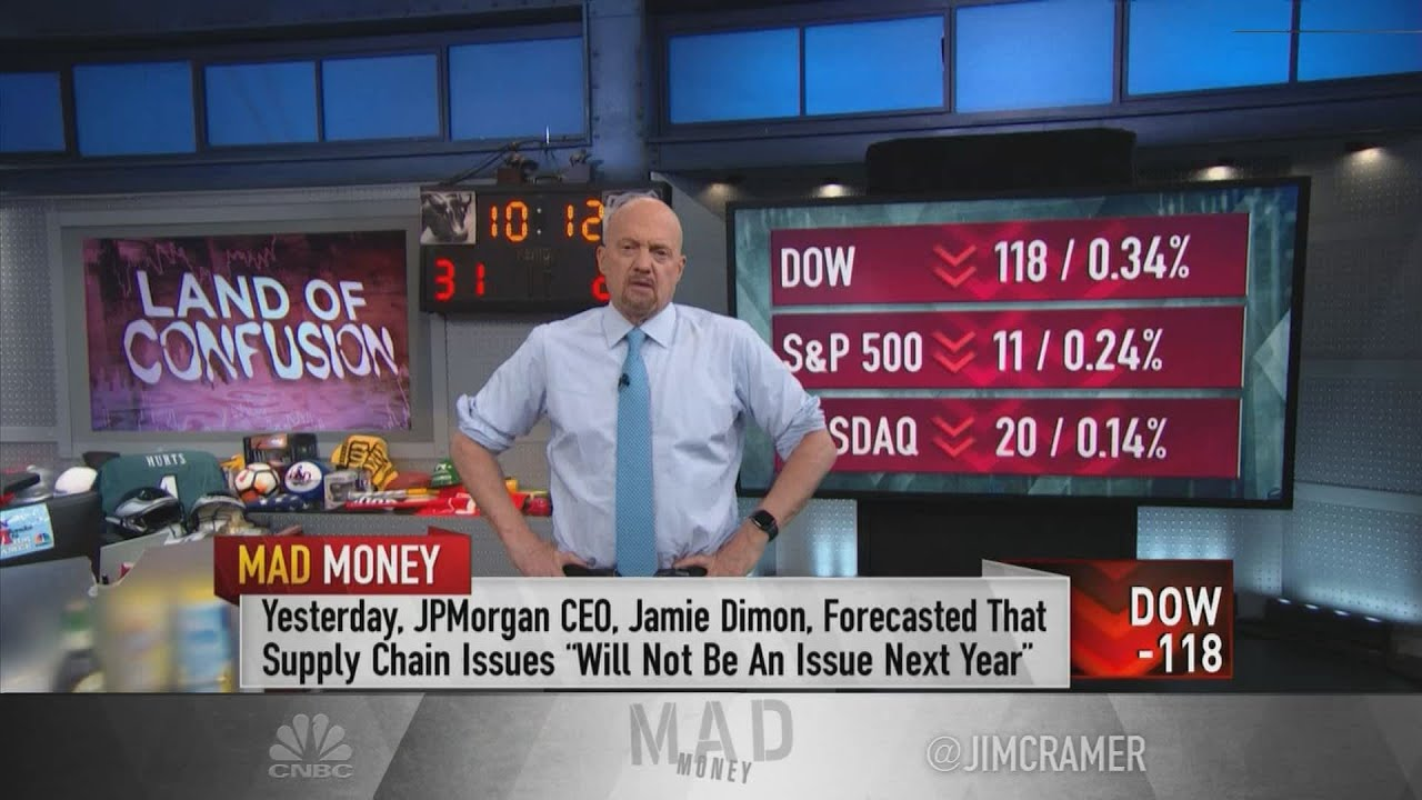 Download Jim Cramer: Investors should be patient amid an 'incredibly confusing' stock market