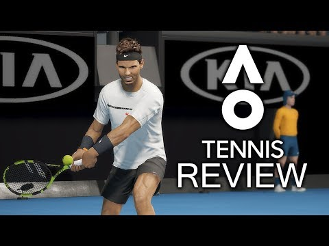 AO Tennis Review (PS4/Xbox One)