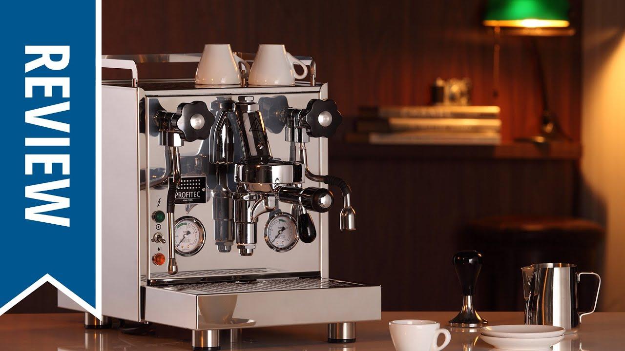 up close with profitec pro 500 espresso machine youtube. Black Bedroom Furniture Sets. Home Design Ideas