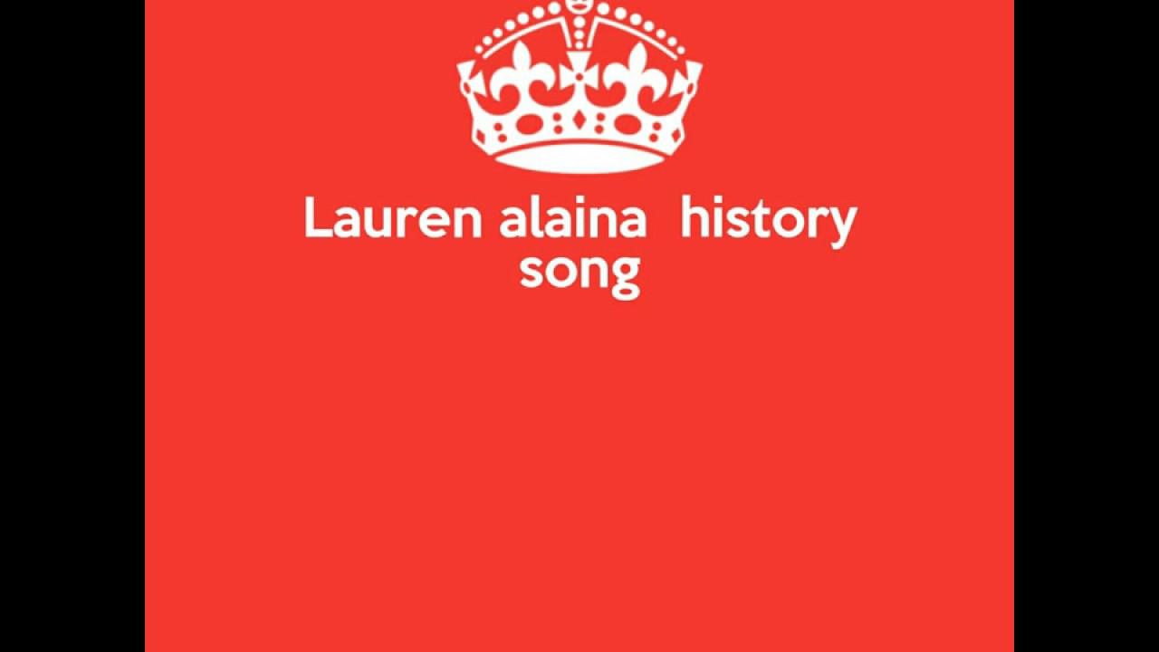 lauren alaina history