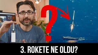3. Rokete ne oldu? Falcon Heavy fırlatışının sonuçları