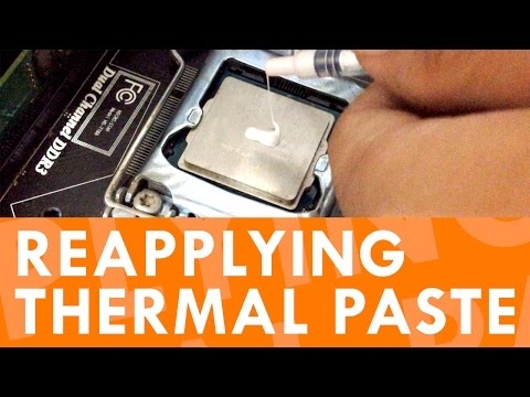 BASICS: Reapply Thermal Paste