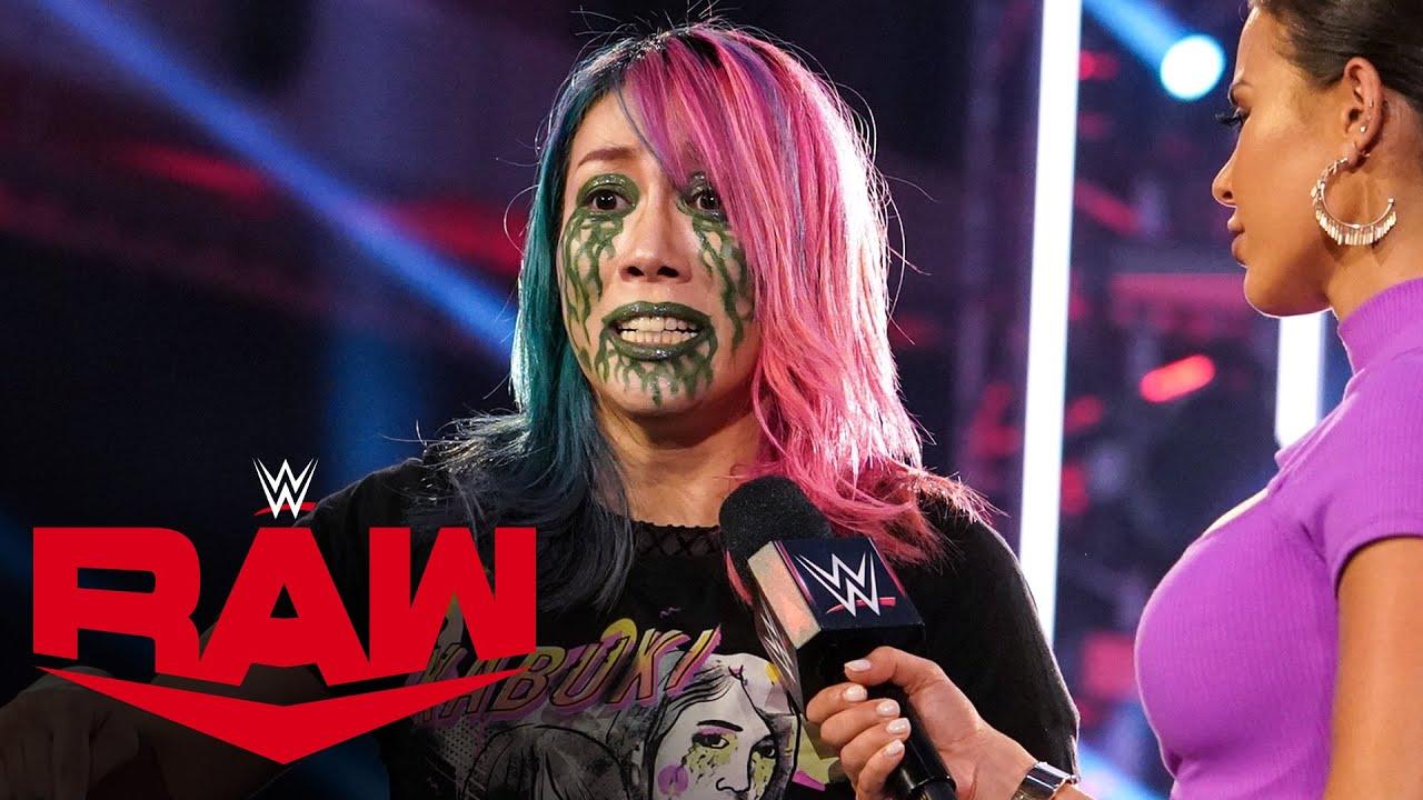 Asuka challenges Sasha Banks for SummerSlam: Raw, Aug. 3, 2020