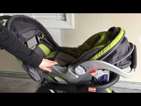 How To Use Baby Trend Expedition Flex Loc Jogging System Car Seat