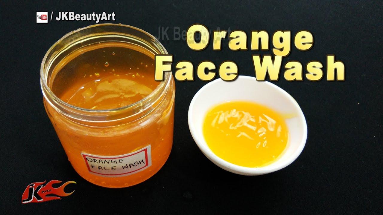 Homemade Orange Face Wash Recipe | Face