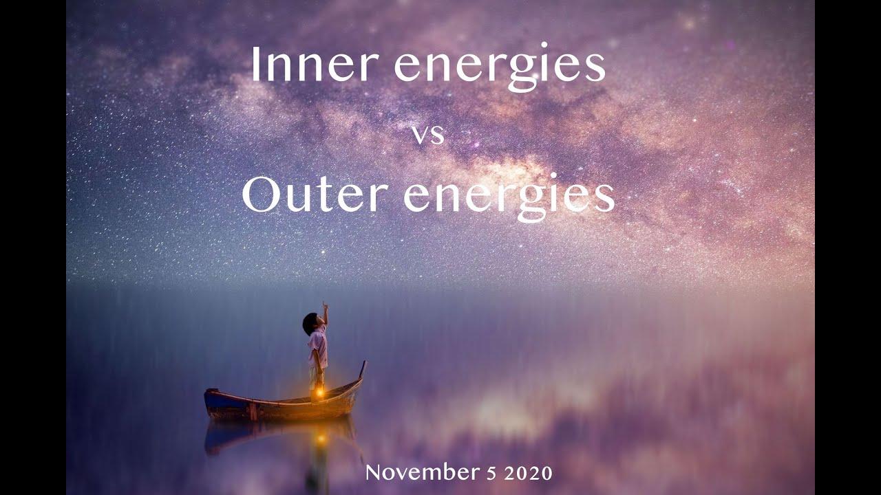 Inner energies vs Outer energies