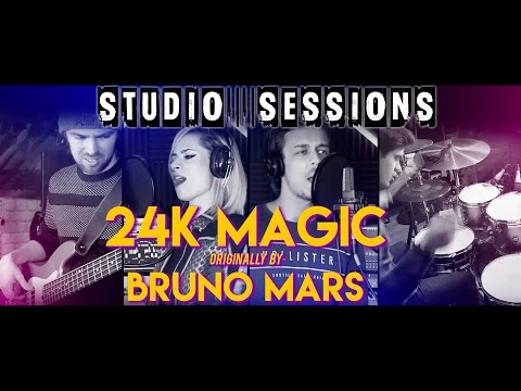24K Magic - Bruno Mars Cover (The Toons Studio Sessions)
