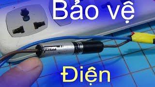 Cách bảo vệ thiết bị điện gia đình, tự chế cầu chì cho ổ cắm điện - BtH