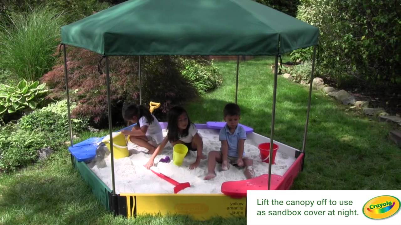 Frame It All Sandbox Canopy & Frame It All Sandbox Canopy - YouTube