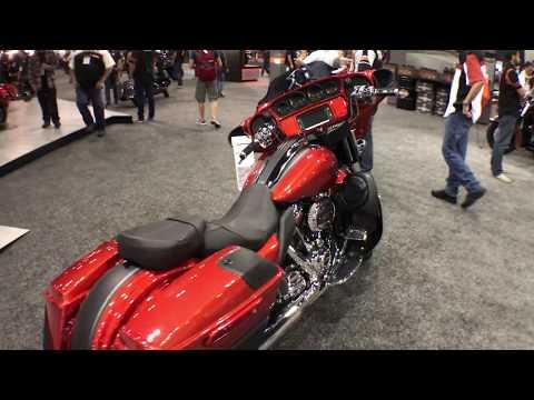 2018 Harley-Davidson CVO Street Glide Orange Lava & Black Denim