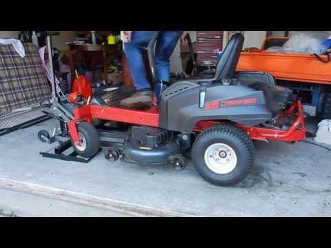 "How to Change the Oil in a Troy-Bilt Mustang 50"" Zero Turn Lawn Mower"