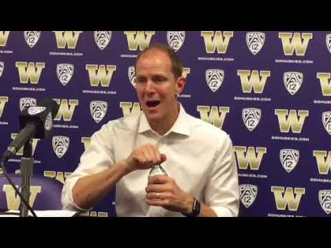 UW men's basketball coach Mike Hopkins reflects on winning debut with the Huskies