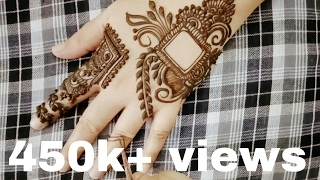 New Henna Design For Diwali 2016 By Heena Vahid
