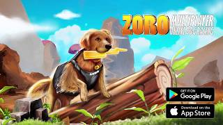 Zoro Pet Run Online Multiplayer Dog Racing Game - Official Game Trailer   Rockville Games