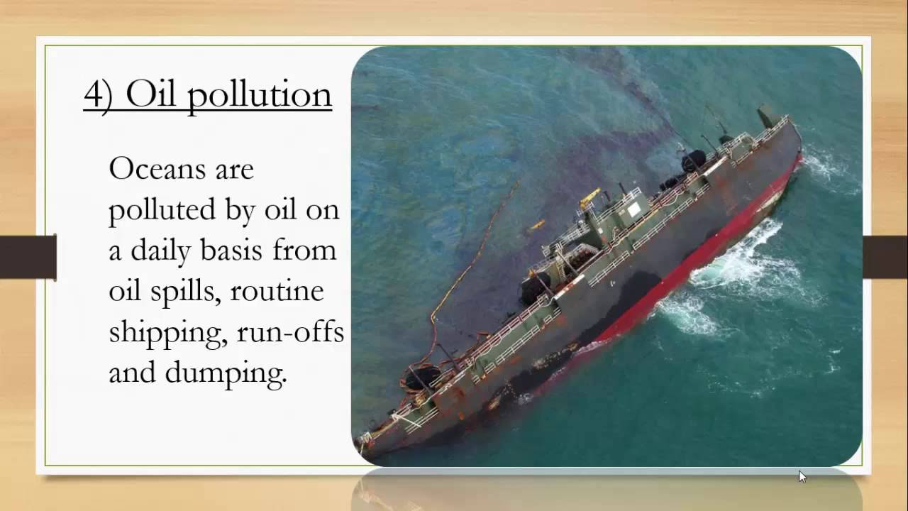 share powerpoint) Water Pollution - YouTube