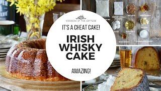 The best IRISH WHISKY CAKE recipe!