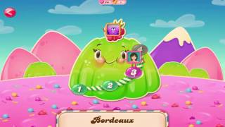 Candy Crush Saga |  France: Bordeaux  Levels 1 - 4 Completed