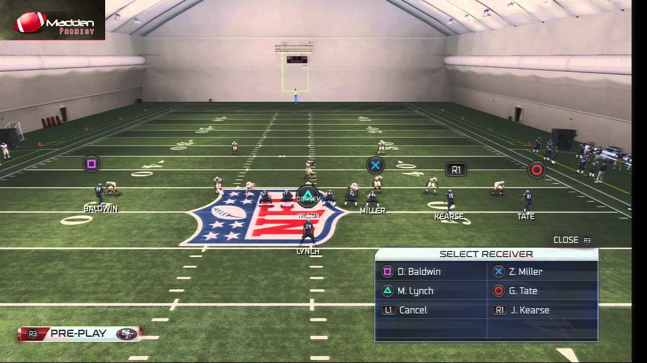Madden nfl 25 features a focus on the running game polygon.