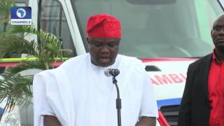 Dateline Lagos: Dateline Lagos: Ambode Commissions 20 Mobile Intensive Care Units -- 09/09/15 Pt 2