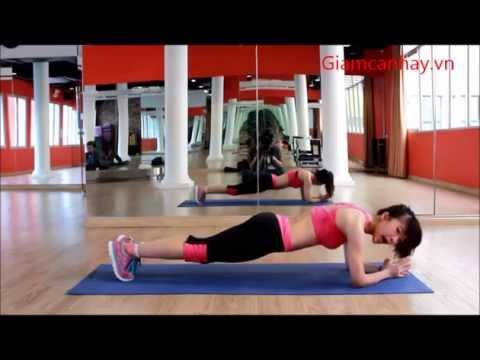 Bài tập thể dục giảm cân nhanh