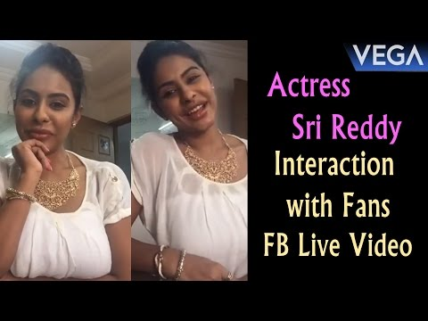 Actress Sri Reddy Interaction with Fans || Vega Entertainment