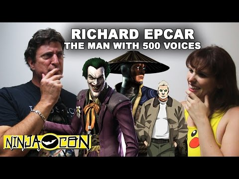 Richard Epcar Interview - NinjaCon 2016
