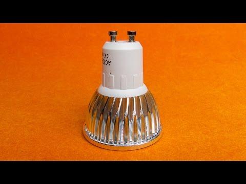 💡Посылка с AliExpress: Светодиодная лампа - цоколь GU10, 9 Вт