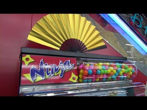 colorful-ninja-gum-ball-machine