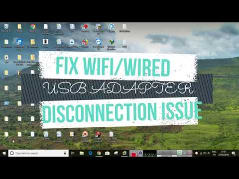 FIX USB Network or Wifi Adapter keep on Disconnecting on Windows 10