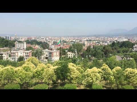 Tirana Martyr's Cemetery Panorama