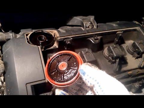 Клапан вентиляции картерных газов КВКГ . Замена мембраны. PCV Valve Membrane Replacement Peugeot