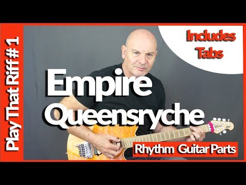 Empire By Queensryche Guitar Lesson - Play That Riff
