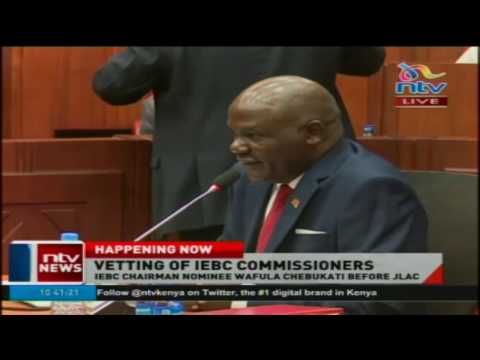 I resigned from ODM, IEBC boss-nominee Wafula Chebukati says