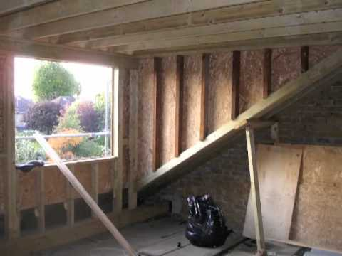 Hip To Gable Loft Conversion Rainbow Construction Youtube