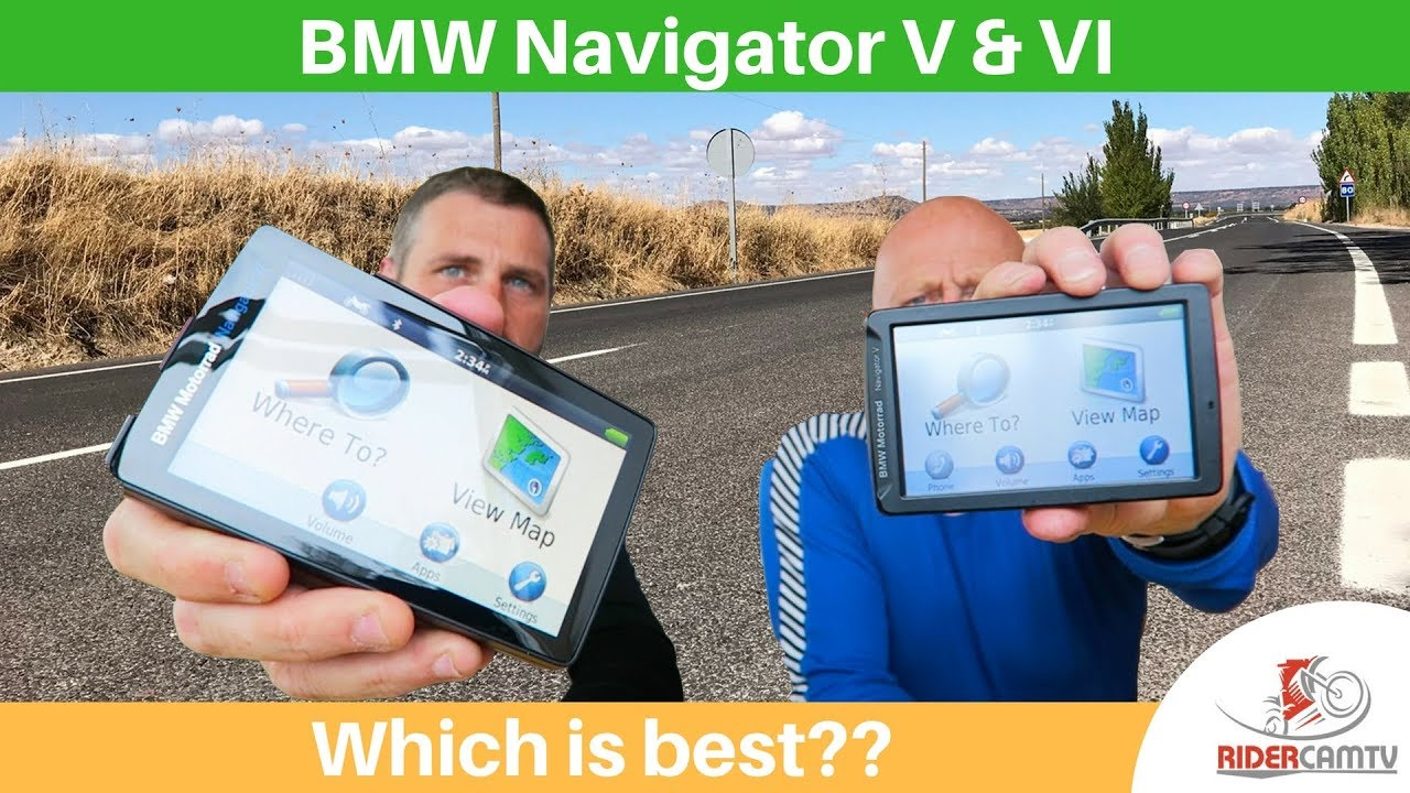 bmw navigator v or vi are they any different youtube. Black Bedroom Furniture Sets. Home Design Ideas