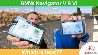 BMW Navigator V or VI   Are they any different?