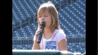 Jackie Evancho March 9, 2010 Pittsburgh Pirates Audition