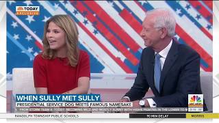 VetDogs Sully Meets Captain Sully Sullenberger on TODAY