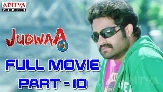 Judwa No1 Hindi Movie Part 10/11 Jr.NTR, Nayanatara, Sheela