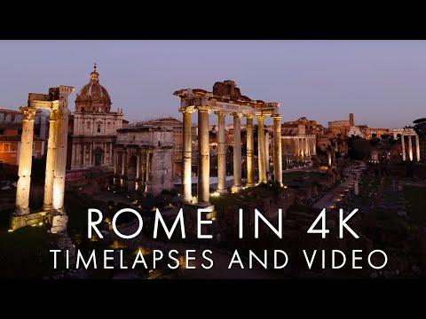 Rome The Eternal City In 4k
